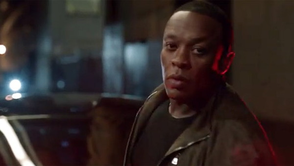 Dr. Dre promoting the Powered By Dr. Dre sound system for the new 2012 Chrysler 300