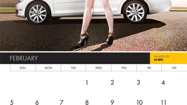 Pump Rebels 2012 calendar