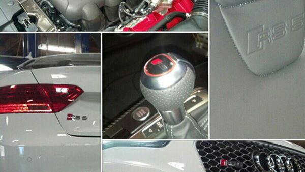 2013 Audi RS 5 at Audi San Diego