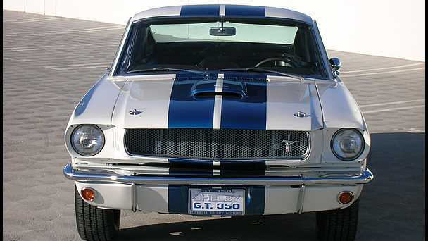 1965-66 Shelby GT350 prototype