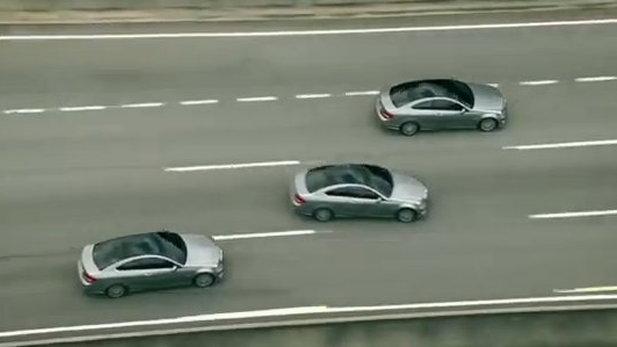 2012 Mercedes-Benz C-Class Coupe in Drive & Seek