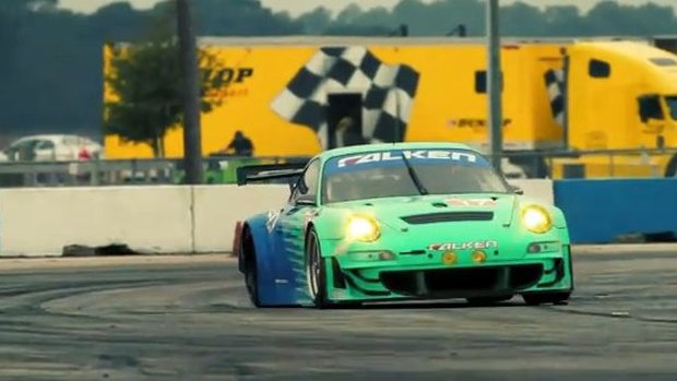Team Falken Tire Porsche 911 GT3 RSR at Sebring ALMS winter test