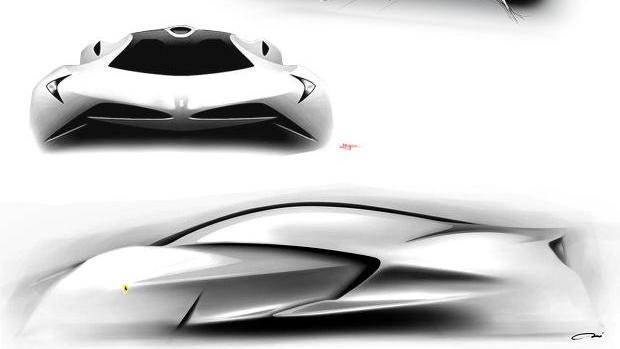 Ferrari World Design Contest - RCA's Cavallo Bianco concept