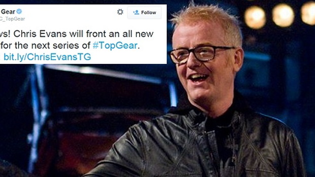Chris Evans Courtesy Top Gear