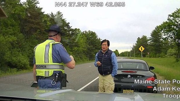 Man busted speeding 139 mph, Photo: Maine State Police
