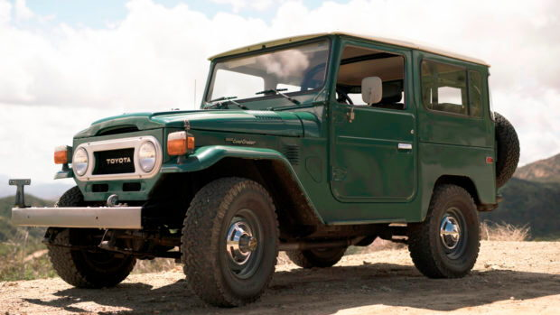 FJ40 Toyota Land Cruiser with just 5,000 miles up for sale