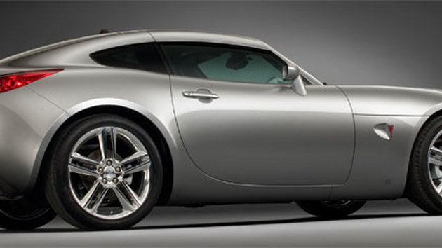The Pontiac Solstice Coupe - one of GM's best-looking cars of recent years