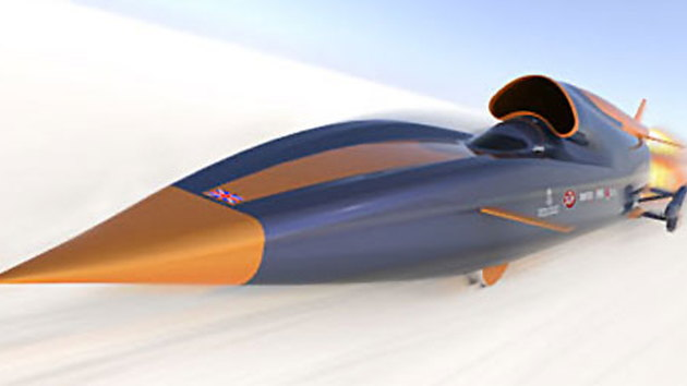 British team planning 1,000mph land speed record