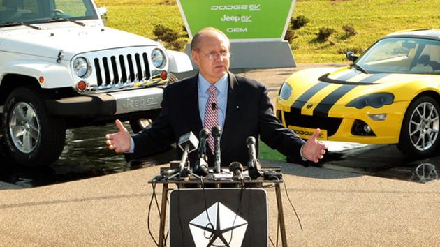 Chrysler CEO Bob Nardelli