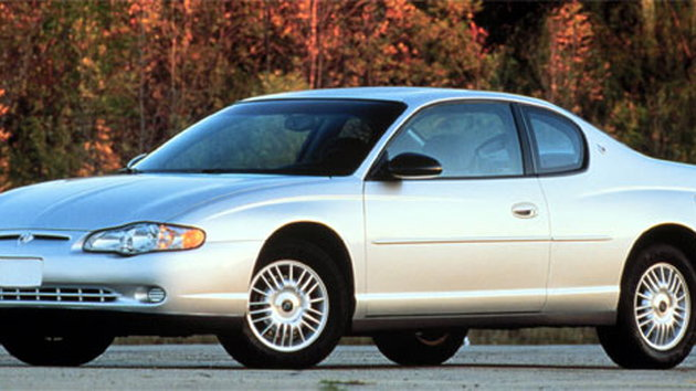 This 2001 Chevrolet Monte Carlo is about the age of the average American car