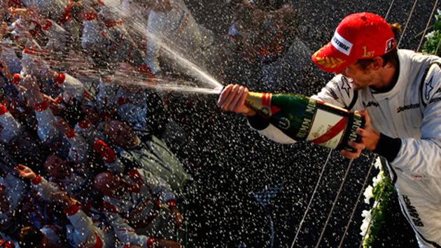 Brawn GP F1 race car