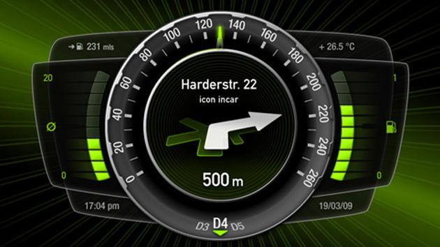 Icon icar 3D gauge cluster