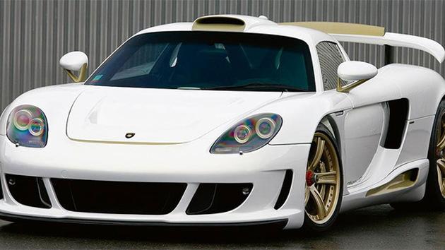Porsche Carrera GT Gemballa Mirage Gold Edition