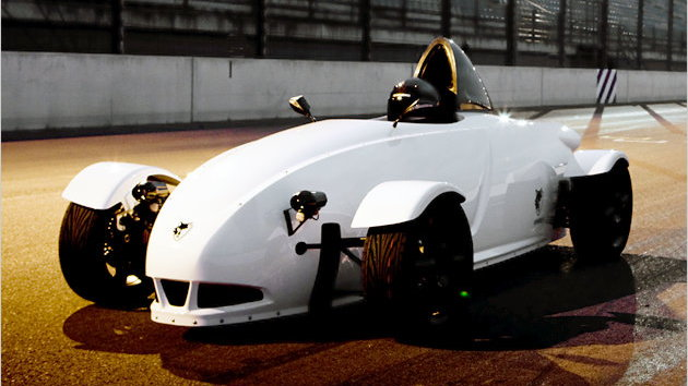 E-Wolf E1 electric roadster
