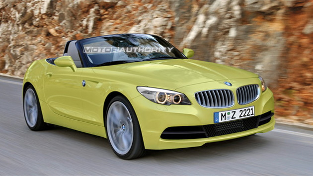 BMW Z2 Roadster rendering