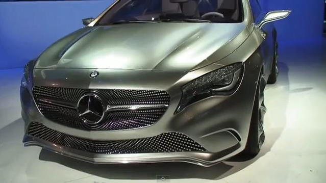 Mercedes-Benz Concept A-Class at 2011 New York Auto Show