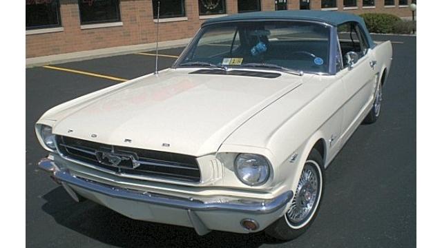 First Mustang Built