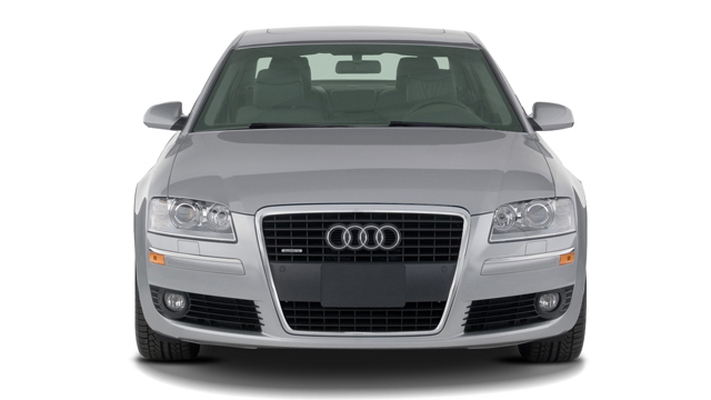 2007 Audi A8 4-door Sedan Front Exterior View