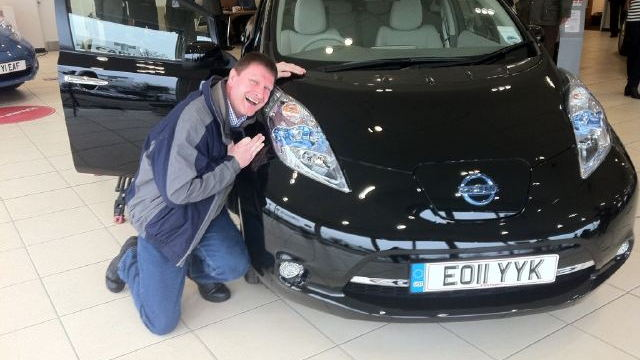 2011 Nissan Leaf UK Launch