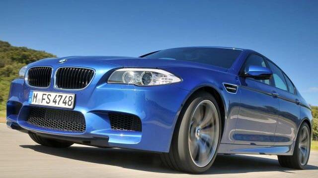 2012 BMW M5 leaked