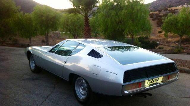 Bertone's 1967 Jaguar Pirana concept
