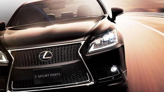 2013 Lexus LS Body Kit by TRD