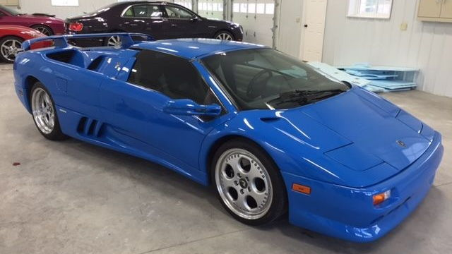 1997 Lamborghini Diablo owned by Donald Trump