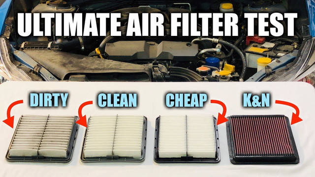 Performance air filter claim test