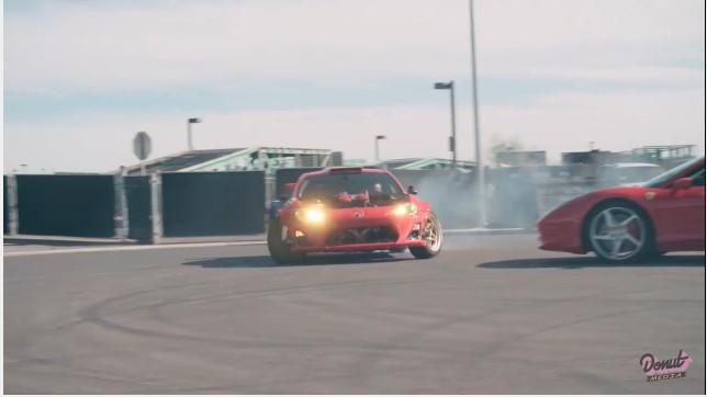 Ryan Tuerck's Toyota 86 with Ferrari 458 Italia engine swap