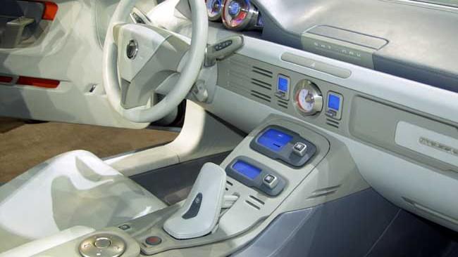 2003 Cadillac Sixteen concept interior