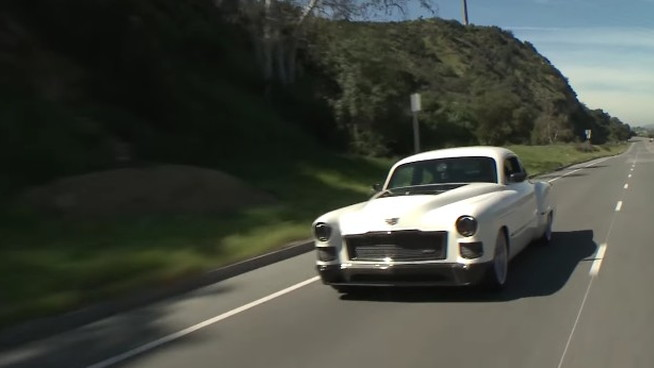 The Ringbrothers bring their Madam V Cadillac to Jay Leno's Garage