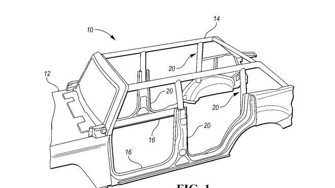 Ford Bronco Roll Cage Patent