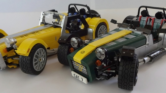 Caterham Super Seven by Lego