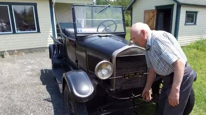 Randall Pitman's 1927 Ford Model T owned for 70 years
