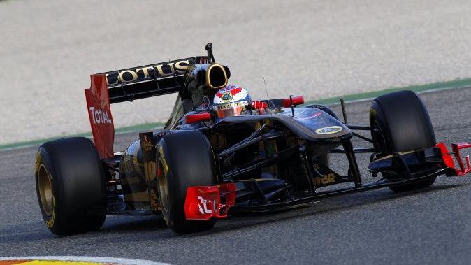 2011 Lotus Renault GP R31
