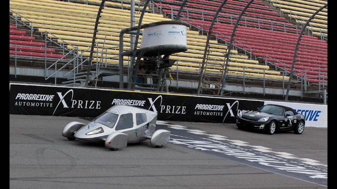 Edison2 Very Light Car and Amp'd Sky, Progressive Automotive X-Prize.