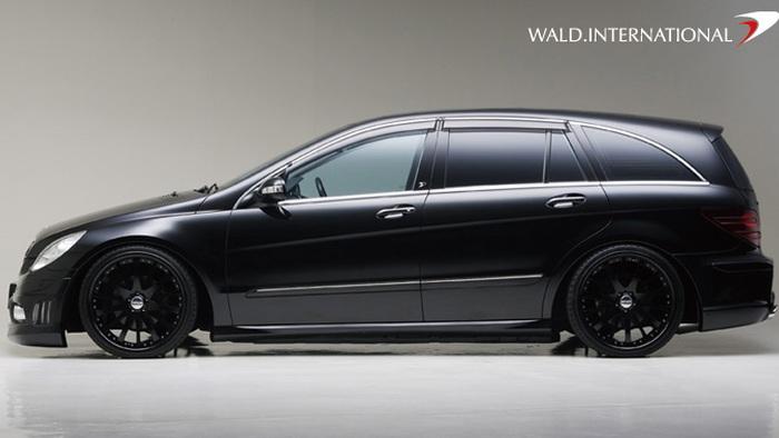 wald black bison mercedes r class 009