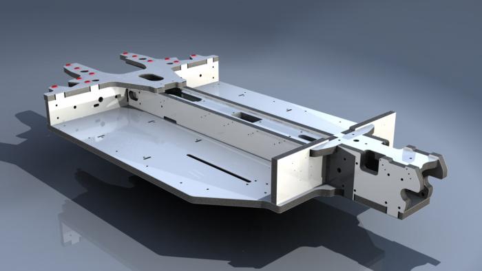 Inrekor's lightweight aluminum and AAPRO propylene foam sandwich material