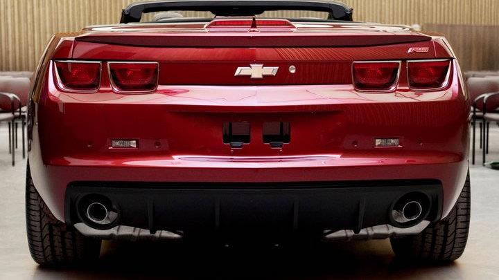 2012 Camaro Convertible
