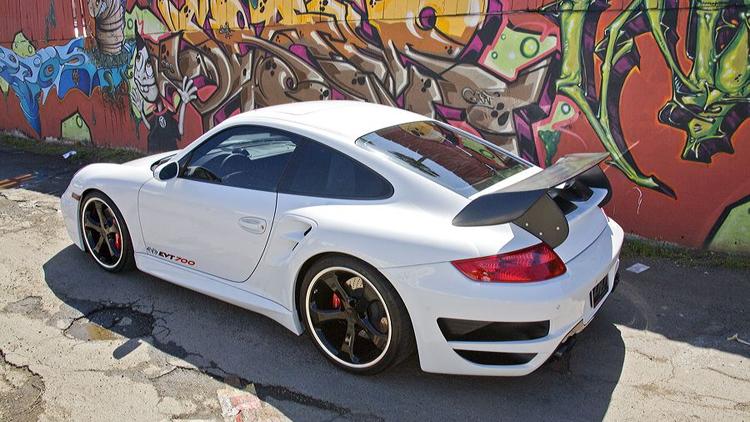 evolution motorsports evt700 997 porsche 911 turbo 014