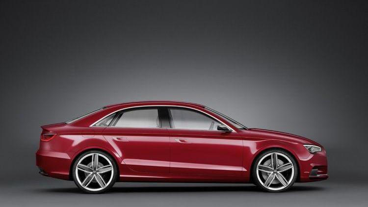 Audi A3 Sedan concept leaked