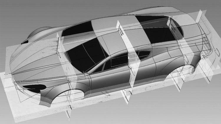HBH Mid-Engine Aston Martin V12 Vantage