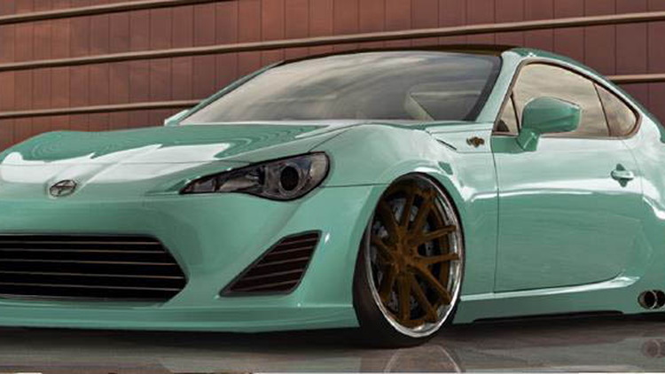 2013 Scion FR-S Tuner Challenge submission for SEMA 2012