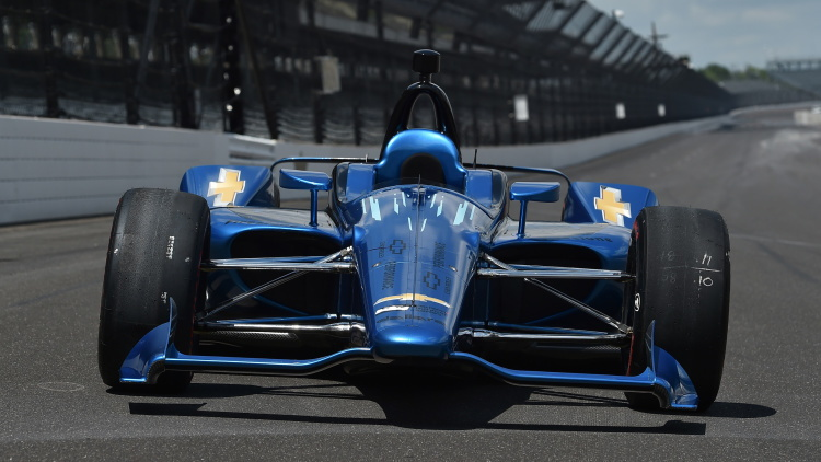 2018 IndyCar body Chevrolet