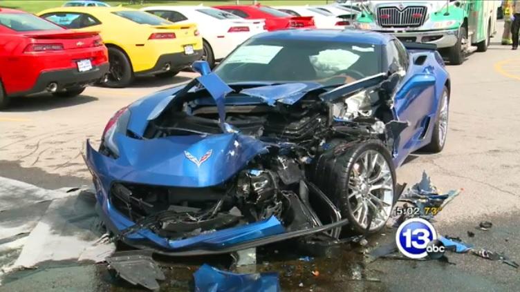 Corvette Z06s Wrecked