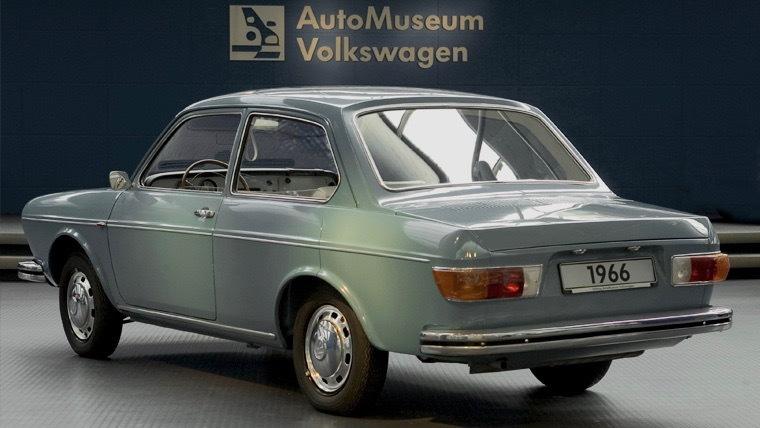 1966 Volkswagen EA142 prototype