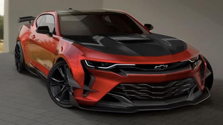 6th-generation Chevrolet Camaro via GM Design
