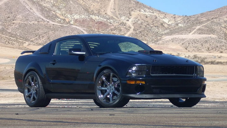 2009 saleen ford mustang dark horse 002