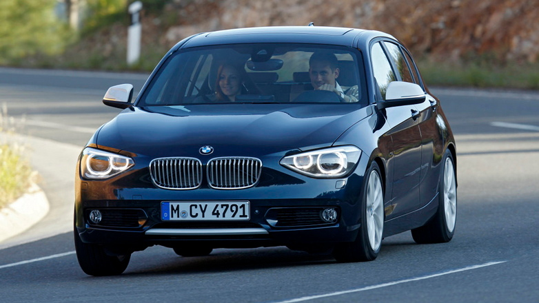 2012 BMW 1-Series European-spec leaked images