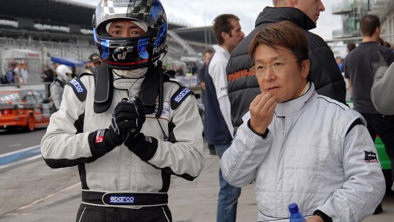Kazunori Yamauchi's SP8 Lexus IS-F